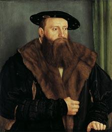 Portrait of Duke Ludwig X of Bavaria, 1531 von Barthel Beham | Gemälde-Reproduktion