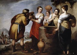 Rebecca and Eliezer | Murillo | Painting Reproduction
