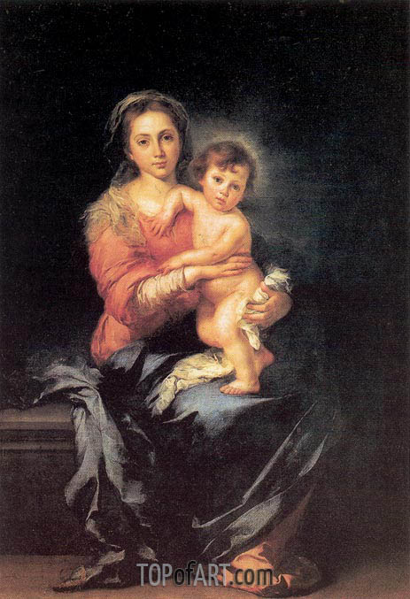 Murillo | The Madonna and Child, c.1650