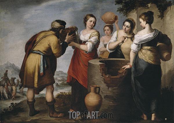Murillo | Rebecca und Eliezer, c.1660
