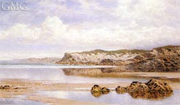 The Incoming Tide, Porth Newquay, 1912 von Benjamin Williams Leader | Gemälde-Reproduktion