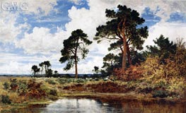 The Breezy Morn, 1898 by Benjamin Williams Leader | Painting Reproduction
