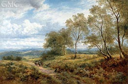 On the Welsh Border | Benjamin Williams Leader | Painting Reproduction