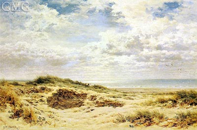 Morning on the Sussex Coast, 1911 | Benjamin Williams Leader | Painting Reproduction