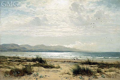 On the Sands, 1893 | Benjamin Williams Leader | Painting Reproduction