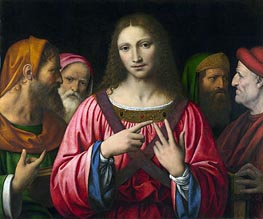 Christ among the Doctors, c.1515/30 by Bernardino Luini | Painting Reproduction