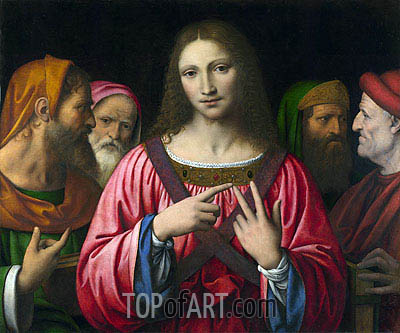 Christ among the Doctors, c.1515/30 | Bernardino Luini | Gemälde Reproduktion
