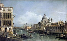 Entrance to the Grand Canal, Venice, undated von Bernardo Bellotto | Gemälde-Reproduktion