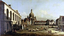 The Neuer Marktplatz in Dresden | Bernardo Bellotto | outdated