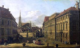 A view of the Lobkowicz Palace in Vienna | Bernardo Bellotto | outdated