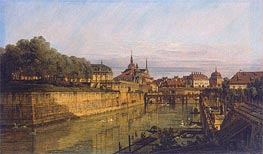 Moat of Zwinger in Dresden | Bernardo Bellotto | outdated