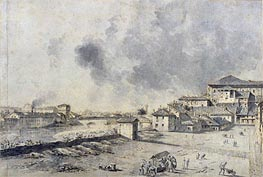 View of Parma, undated by Bernardo Bellotto | Painting Reproduction