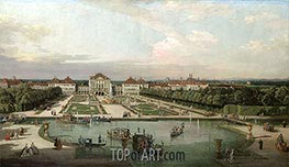 Nymphenburg Palace from the Park, 1761 by Bernardo Bellotto | Painting Reproduction