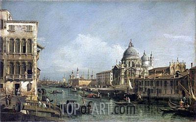 Bernardo Bellotto | Entrance to the Grand Canal, Venice, undated