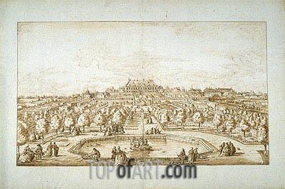 Bernardo Bellotto | View of Vienna (Belvedere Palace Gardens), undated