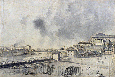 View of Parma, undated | Bernardo Bellotto| Painting Reproduction