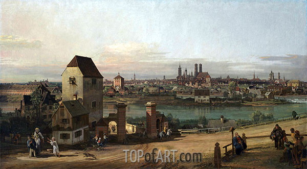 Bernardo Bellotto | Munich from the East, 1761