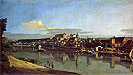 View of Purna from the Right Bank of the Elbe   Bernardo Bellotto
