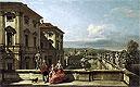 The Liechtenstein Garden Palace in Vienna Seen from the East | Bernardo Bellotto