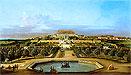 Hof Castle, Garden View | Bernardo Bellotto