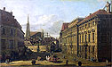 A view of the Lobkowicz Palace in Vienna   Bernardo Bellotto