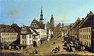 The Marketplace at Pirna | Bernardo Bellotto