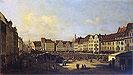 Old Market-Place in Dresden | Bernardo Bellotto