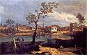 Country, Shore by the River | Bernardo Bellotto