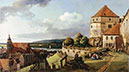 Sonnenstein Fortress above Pirna, c.1753/55 | Bernardo Bellotto