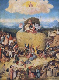 The Haywain, c.1512/15 by Hieronymus Bosch | Painting Reproduction