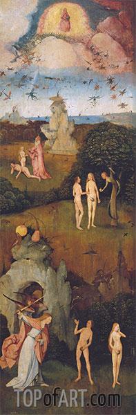 Hieronymus Bosch | Der Heuwagen-Triptychon (linkes Bild), c.1512/15