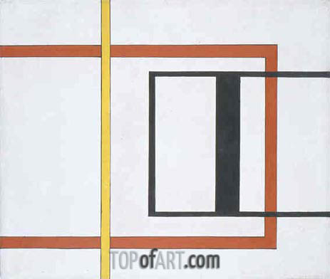 Untitled (Early Geometric), 1934 | Burgoyne Diller | Painting Reproduction
