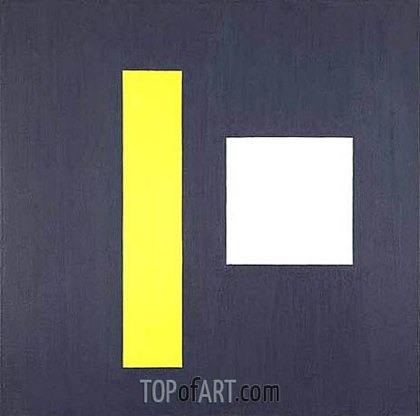 First Theme, 1962 | Burgoyne Diller | Painting Reproduction