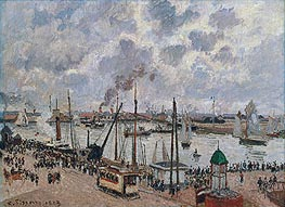 The Port of Le Havre, 1903 by Pissarro | Painting Reproduction