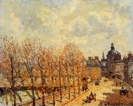 Quay Malaquais, Morning, Sunny Weather, 1903 von Pissarro | Gemälde-Reproduktion