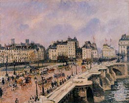 The Pont-Neuf | Pissarro | Painting Reproduction