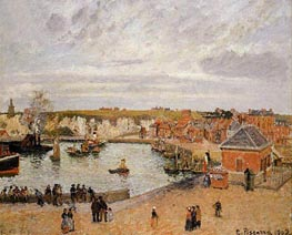 The Port of Dieppe | Pissarro | veraltet