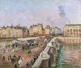 Afternoon Sunshine, Pont Neuf | Pissarro | Gemälde Reproduktion