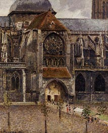 Portal of the Church Saint-Jacques, Dieppe | Pissarro | veraltet