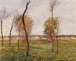 A Meadow in Moret | Pissarro | Gemälde Reproduktion