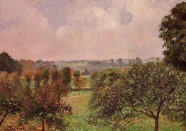 After the Rain, Autumn, Eragny | Pissarro | Gemälde Reproduktion