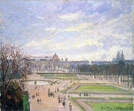 The Tuileries Gardens | Pissarro | veraltet