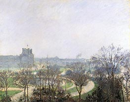 The Tuileries Gardens | Pissarro | Gemälde Reproduktion
