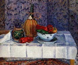 Still Life with Spanish Peppers | Pissarro | Gemälde Reproduktion