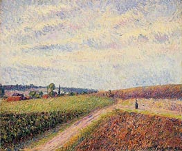 View of Eragny | Pissarro | veraltet