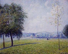 Primrose Hill, Regent's Park, 1892 by Pissarro | Painting Reproduction