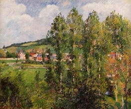 Gisors, New Section | Pissarro | Gemälde Reproduktion