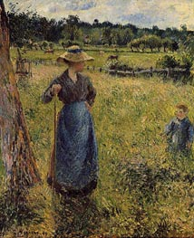 The Tedder | Pissarro | Gemälde Reproduktion