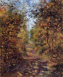 A Path in the Woods, Pontoise | Pissarro | veraltet