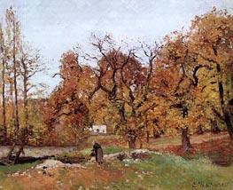 Autumn Landscape, near Pontoise | Pissarro | Gemälde Reproduktion